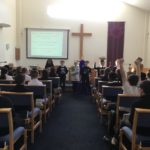 Droylsden - school in for the Easter story